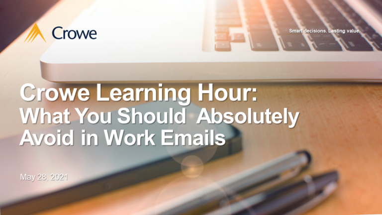 CLH #1: What You Should Absolutely Avoid in Work Emails