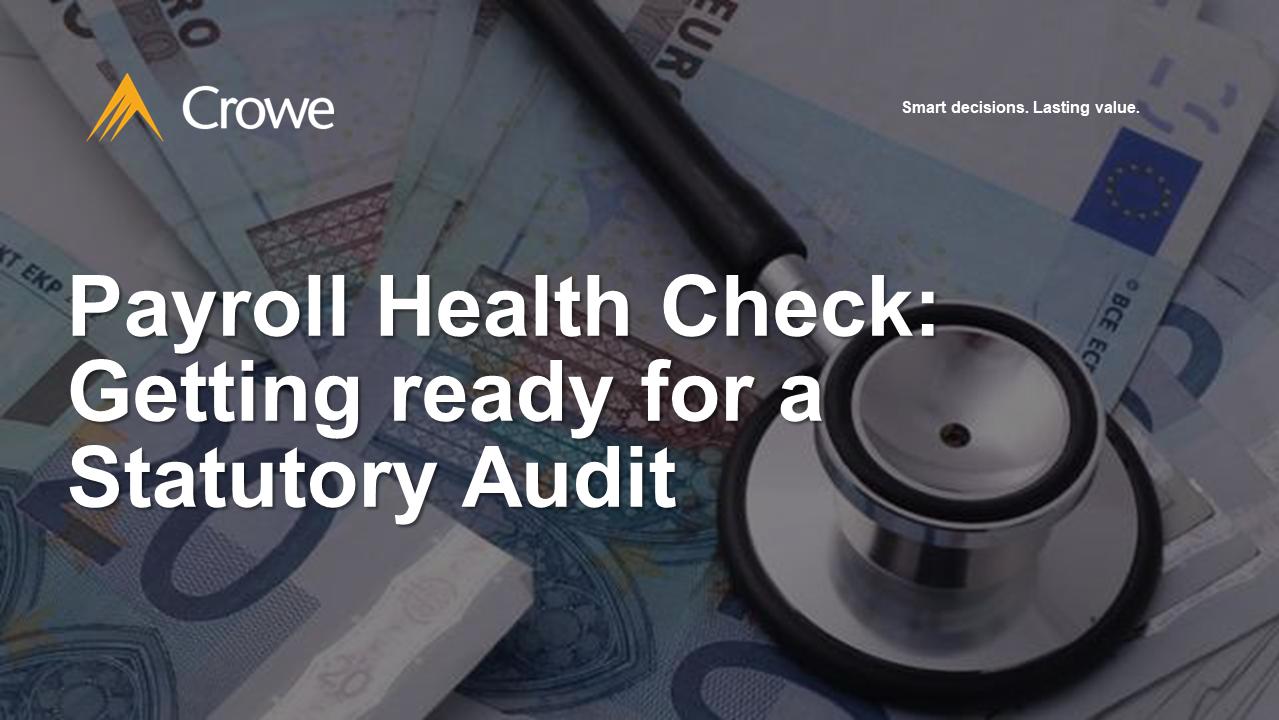 Payroll Health Check